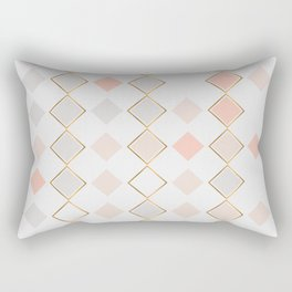 Pattern Rose Rectangular Pillow