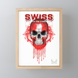 To The Core Collection: Switzerland Framed Mini Art Print