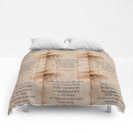 The Tenth Amendment Comforters