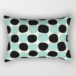 Random dots pattern Rectangular Pillow