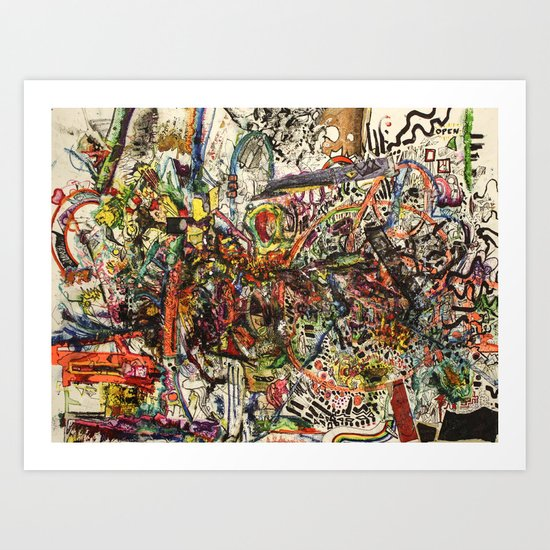 Managed Mayhem Art Print