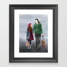 Scenic Route Framed Art Print