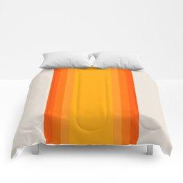 Sunrise Rainbow - Straight Comforters