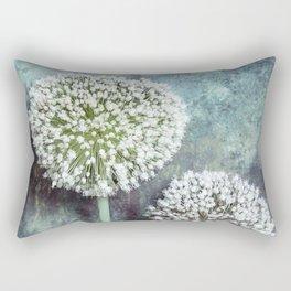 Allium Flowers Rectangular Pillow