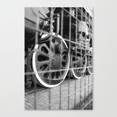 The Wheels are Turning Canvas Print