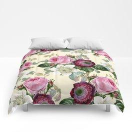 Floral enchant - cream Comforters