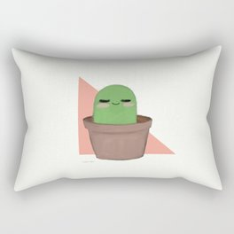 Chill Cactus Rectangular Pillow