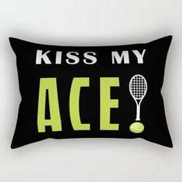 Kiss my ace Rectangular Pillow