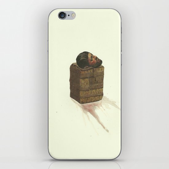 I shudder at the thought of your Poor empty hunter's pouch iPhone & iPod Skin