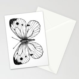 Cabbage butterfly Stationery Cards