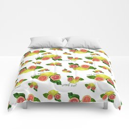 Juicy Guava Comforters