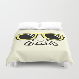 Too Cool (yellow) Duvet Cover