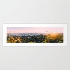 as a wave Art Print