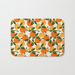 Oranges and Lemons Bath Mat