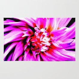 Electro Floral Fun Rug