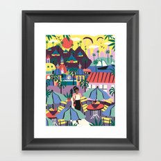 Contemporary Framed Art Print