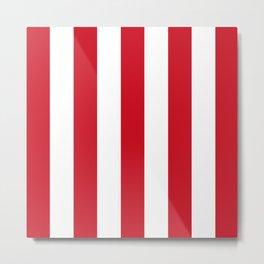Atletico Stripes Metal Print