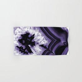 Ultra Violet Agate Chic #1 #gem #decor #art #society6 Hand & Bath Towel