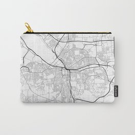 Minimal City Maps - Map Of Syracuse, New York, United States Carry-All Pouch