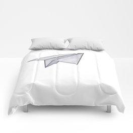 Marbelous plane Comforters