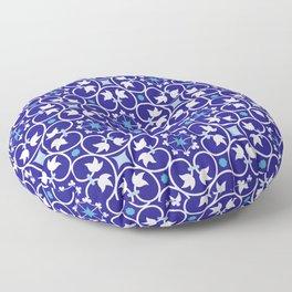moroccan style tiles Floor Pillow