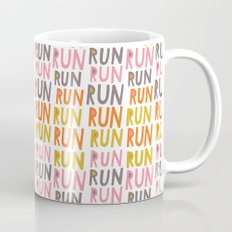 Pattern Project #19 / Run Run Run Mug