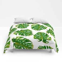 Guatemala - Monstera Deliciosa Jungle Comforters