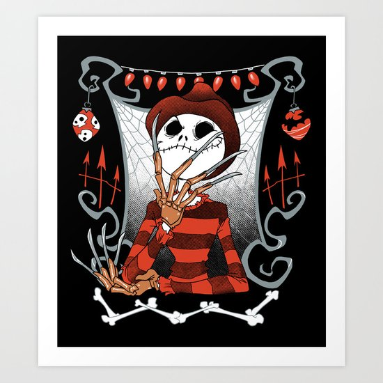 Nightmare King Art Print