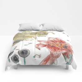 Bee Happy 1 Comforters