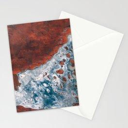 Lake Mackay salt lake Western Australia Stationery Cards
