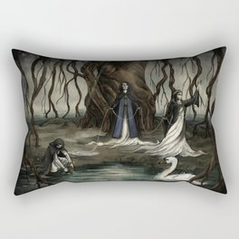 The Norns Rectangular Pillow