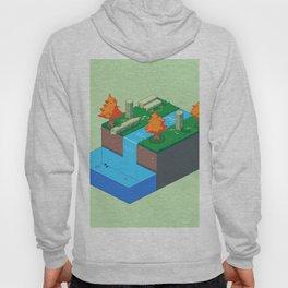 Isometric Riverside Hoody