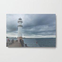 Light Tower in Edingburgh Metal Print