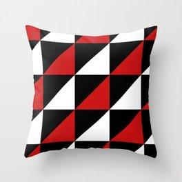 Winter Semaphore Throw Pillow