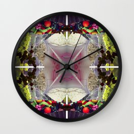 Mandala series #17 Wall Clock