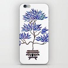 Bonsai Tree – Navy Palette iPhone & iPod Skin