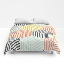 Colorful Geometric Pattern Comforters