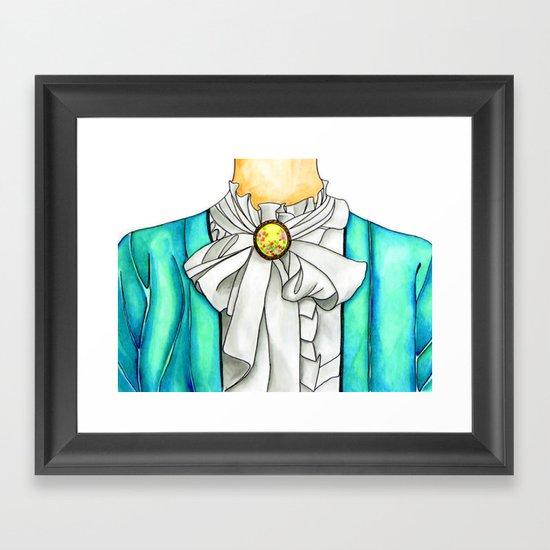 Dressed Up Framed Art Print
