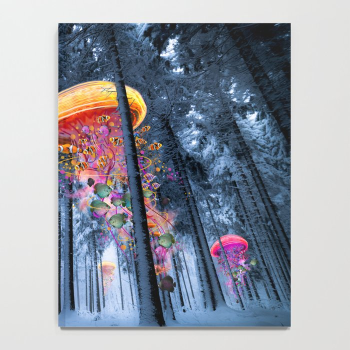 Winter Forest of Electric Jellyfish Worlds Notebook