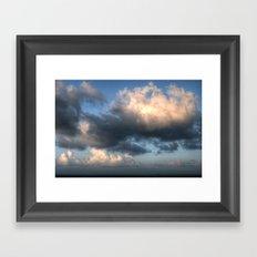 The sea... Framed Art Print