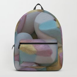 marshmallow candy at party Backpack