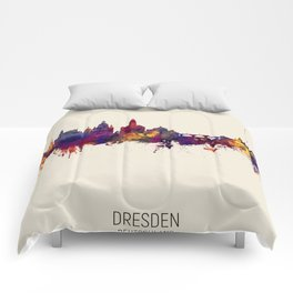 Dresden Germany Skyline Comforters