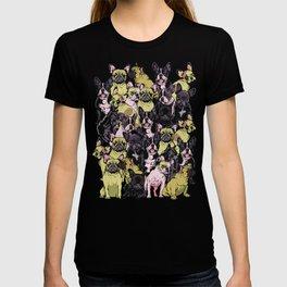Social French Bulldog T-shirt