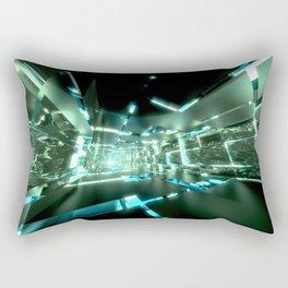 Emerald Tunnels no2 Rectangular Pillow