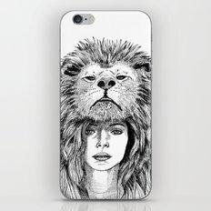 Lion Lady iPhone & iPod Skin