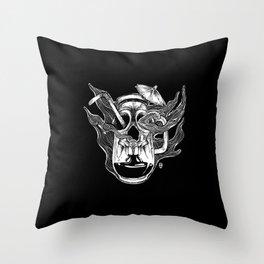 Poison Cocktail Throw Pillow