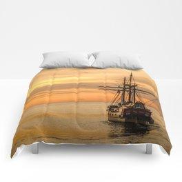 Sailing ship Comforters