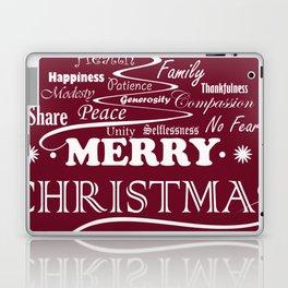 The Wishing Christmas Tree Laptop & iPad Skin