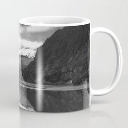 Glacier Mendenhall Juneau, Alaska BW Coffee Mug