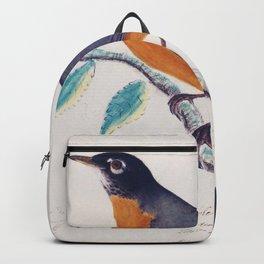 Robin - John James Audubon Backpack